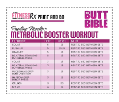 pauline nordin u0027s metabolic booster workout fitnessrx for women