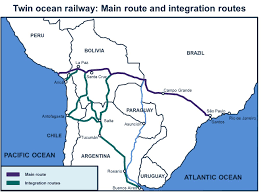 F Train Map Inter American Dialogue Update Twin Ocean Railway