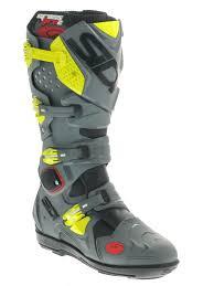 sidi crossfire motocross boots crossfire srs black