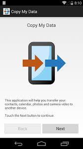 transfer contacts android copy my data android apps on play
