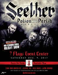 7 Flags Event Center Des Moines Lazer 103 3 Holiday Show Ft Seether