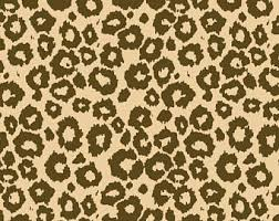 leopard print tissue paper animal print tissue etsy
