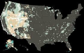 map of us federal states why the government owns so much land in the west the new york times
