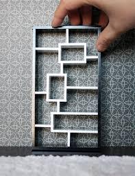 the new black u0026 white modern dollhouse acrylic furniture update