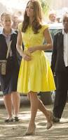 Kate Middleton Dresses Canary Kate Middleton U0027s 6 Eye Catching Yellow Looks Mirror Online