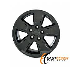jeep liberty black rims factory chrome wheels