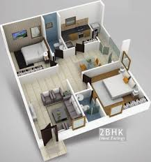 1100 sq ft 2 bhk 2t apartment for sale in myspace builders elite