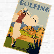 popular pop art sport buy cheap pop art sport lots from china pop pop art golfing sports classic vintage retro kraft poster decorative diy wall sticker home bar art