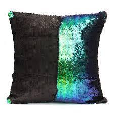 40x40cm mermaid magical color change fashion fabrics sequin pillow