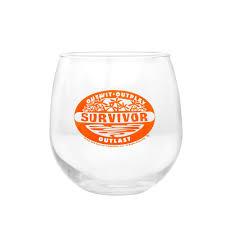 Wine Glass Survivor Stemless Wine Glass Cbs Store