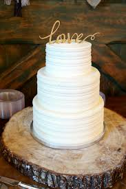 simple wedding cakes rustic wedding cake the baking fairy