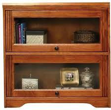 Antique Oak Bookcase With Glass Doors Oak Bookcase With Glass Doors Hercegnovi2021 Me