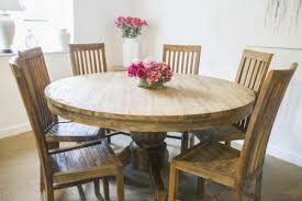 reclaimed teak dining room table reclaimed teak circular pedestal table 1 5m with six reclaimed