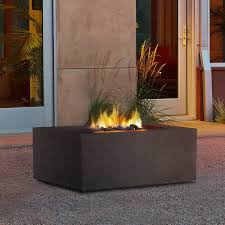 Outdoor Natural Gas Fire Pits Hgtv Napoleon Square Propane Fire Pit Table Hayneedle