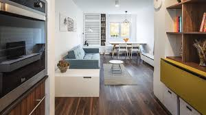 light and charming decor in a compact 1 bedroom apartment best