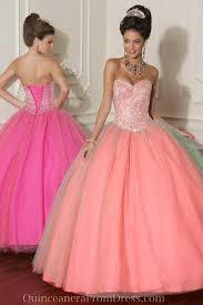 quinceanera pink dresses handmade beaded sequined tulle strapless pink quinceanera dress