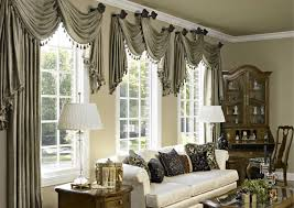 window treatments for bay windows in dining room with worthy bay