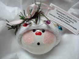 christmas lights snowman ornament christmas pinterest