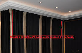Automatic Blind Opener And Closer by Metechs Remote Control Electric Window Treatment Drapery Curtain