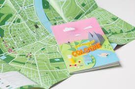 Cologne Germany Map by Not Just Another Guide To Cologne On Behance
