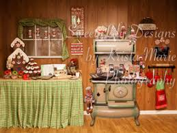 santa kitchen backdrops