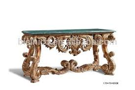 Marble Top Entryway Table Antique Luxury Console Table Console Hall Foyer Table With Marble