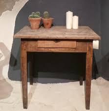 vieux bureau en bois bureau en bois brut great bureau duado en bois massif marron