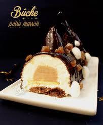 recettes cuisine noel bûche poire marron et chocolat dessert de noël il était une fois