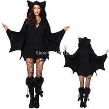 shop black evil vire bat costume
