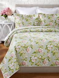 laura ashley girls bedding amazon com laura ashley carlisle quilt set king mist home