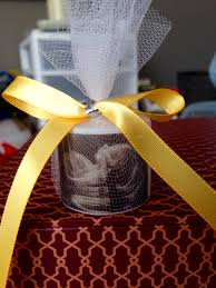 personalized ribbon for favors 30 baby shower favors ultrasound picture on candle
