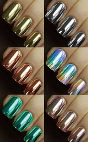 best 25 metallic nail polish ideas on pinterest mirror nail