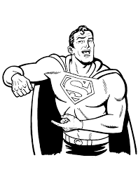 superman coloring u0026 coloring pages
