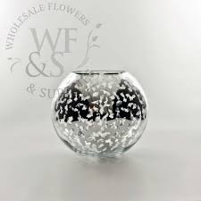 Silver Vase Wholesale Mercury Glass Sphere Vase Wholesale Flowers And Supplies