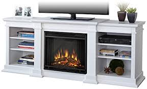 White Electric Fireplace Amazon Com Real Flame G1200e W Fresno Entertainment Unit With