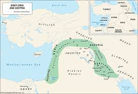 middle east map water bodies nineveh history map significance britannica