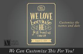 we love because he first loved us 1 john 4 19 bible verse with