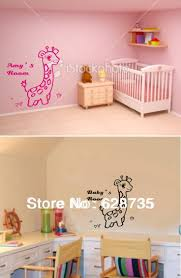 best 20 name wall stickers ideas on pinterest wall letter free shipping custom personalized name wall stickers nursery decor cute giraffe customized name wall decals