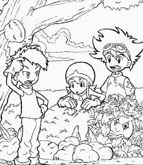 digimon 7 cartoons coloring pages u0026 coloring book