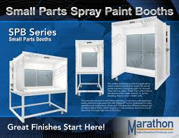 small parts booth spb 30 marathon finishing systems inc