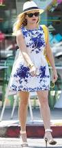 reese witherspoon is dressed perfectly for summer in blue