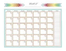 monthly calendar template printable calendar monthly