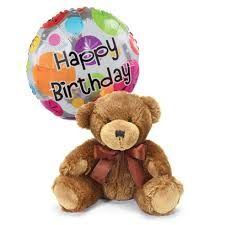 teddy bears in balloons birthday flowers same day delivery for family sendflowers