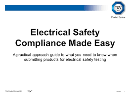 electrical safety compliance made easy ppt video online download