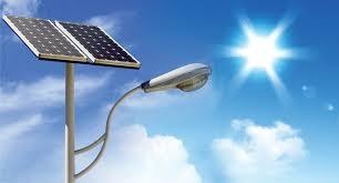 solar lighting solar light 15 watt solar light at rs 18000 set
