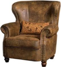 remington wing back chair 2385 01 dodgeville livingroom
