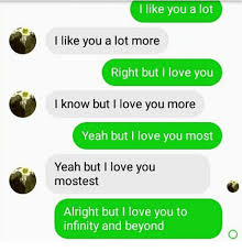 I Love You More Meme - 25 best memes about i love you most i love you most memes