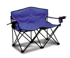 Foldable Loveseat Amazon Com Loveseat Deluxe Portable Beach Camping Pool Side