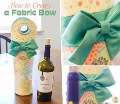 wine bottle bows the shabby a quilting by shabby fabrics how to make a