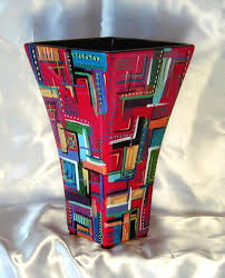 Design For Vase Painting Yessy U003e Gino Dominic Nardo U003e Ceramic U003e Red Line Design Series Vase